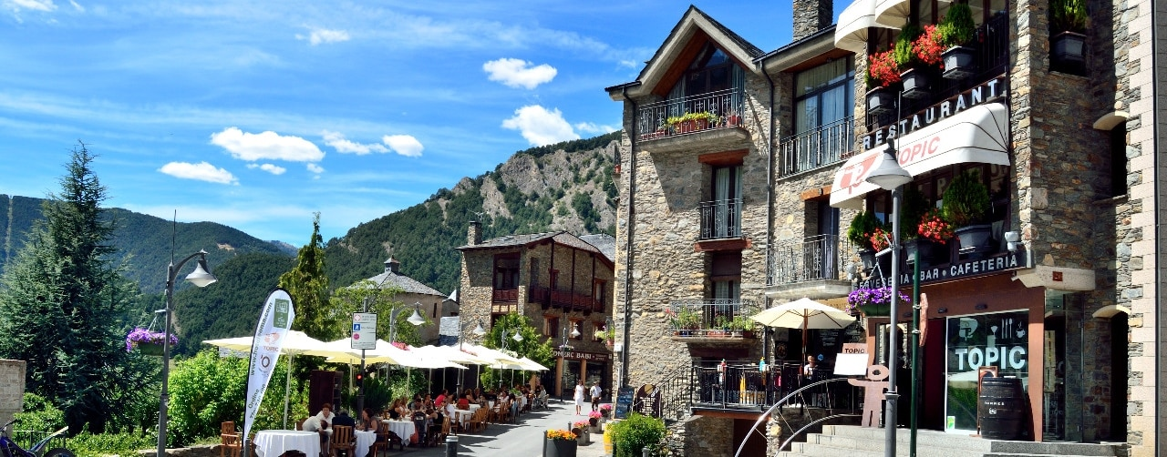 Restaurant Topic Hotel Coma Ordino Andorra